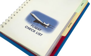 Today, flight checklists are an essential and required safety tool in the airline industry.