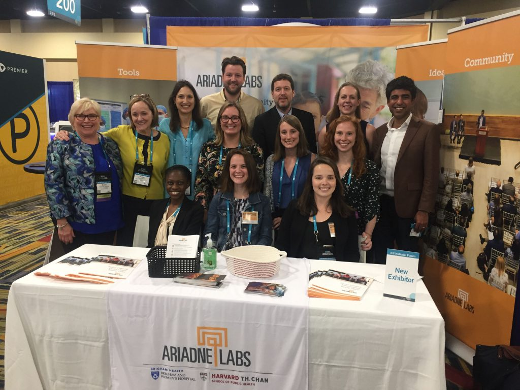 Ariadne Labs Team at IHI National Forum