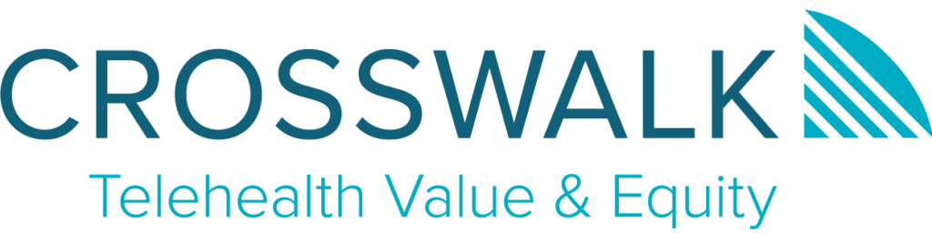 Crosswalk Telehealth Value and Equity logo
